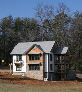 The new green student housing at the Folk School