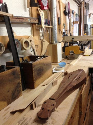 Dulcimer Making with Mark Edelman