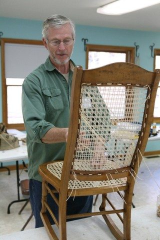 Caned and Woven Chair Seats Richard Hall