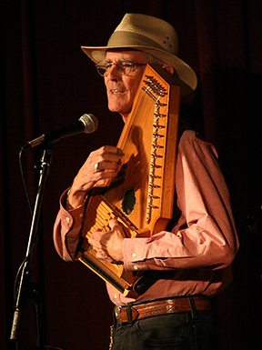 Ivan Stile teaches autoharp and bowed psaltery a the Folk School.