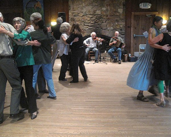 Irish Set Dancing in the Community Room