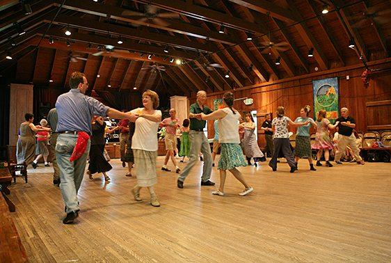 English Country Dancing in the Keith House Community Room