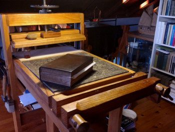 GIan's South Shore Bindery on Amherst Island