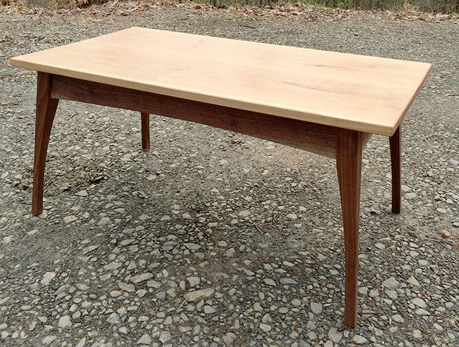 Elizabeth's completed table
