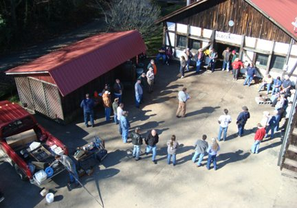 Annual Blacksmith Auction and Meeting