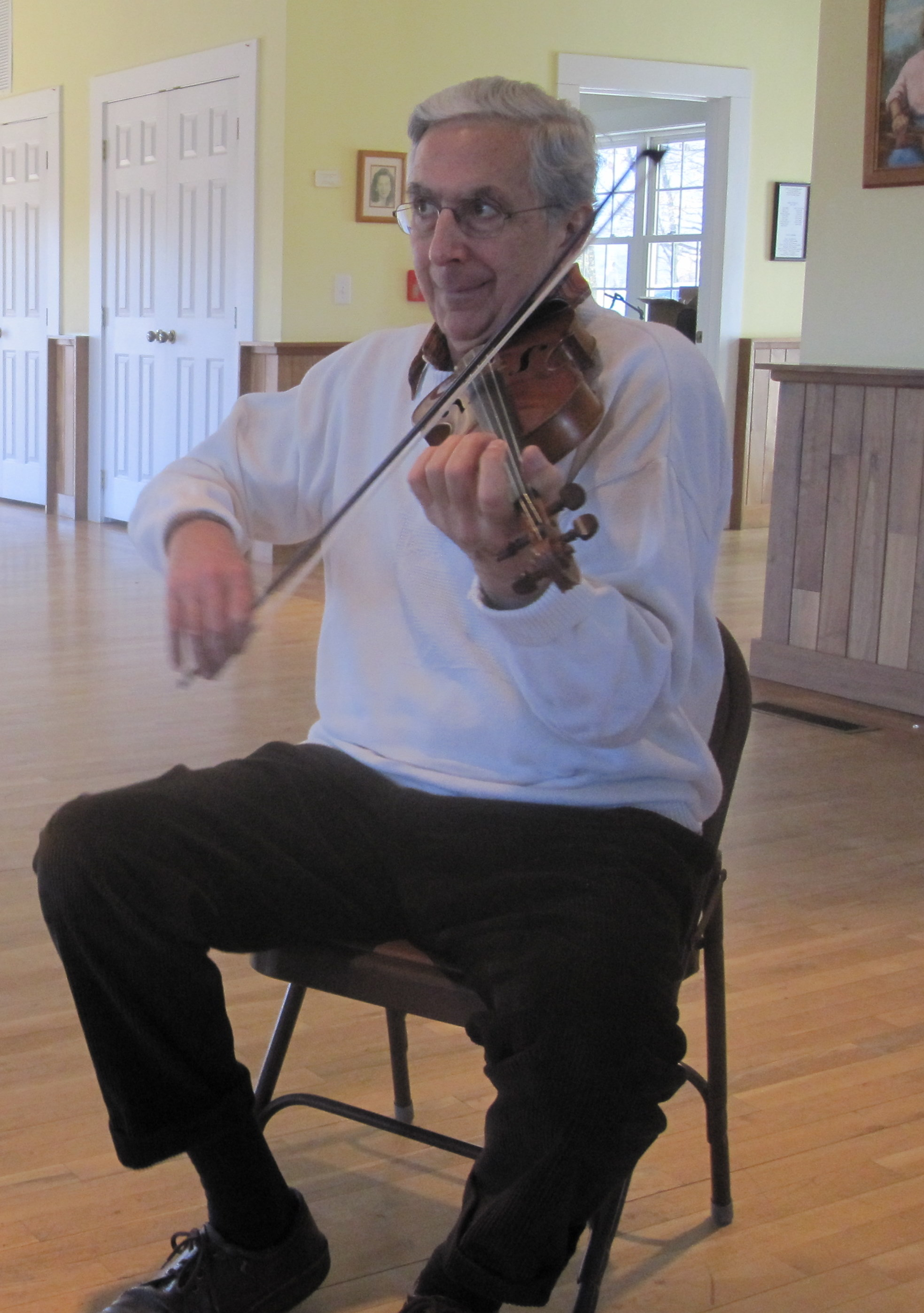 Old-time Fiddle Workshop with Alan Jabbour