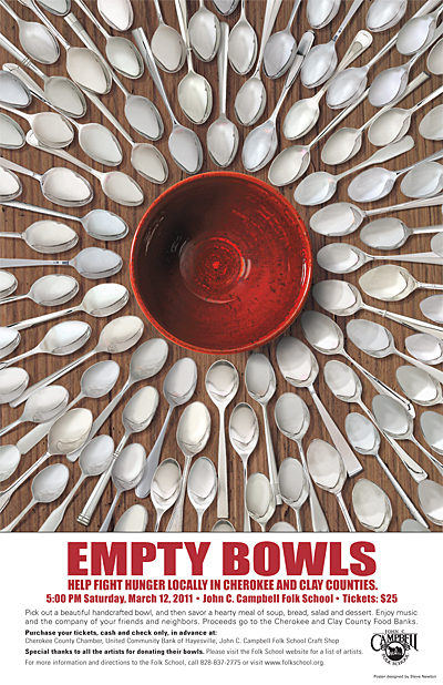 Empty Bowls Tickets on Sale February 1