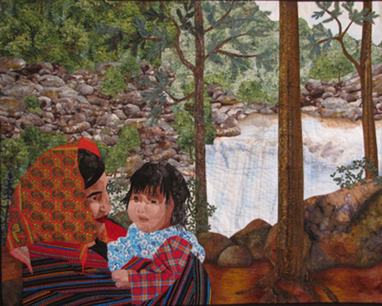 Meaningful Imagery Meets Traditional Quilting