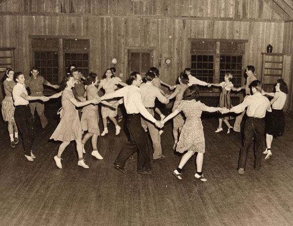 Many Fine Tunes: A Brief History of Dancing at the Folk School