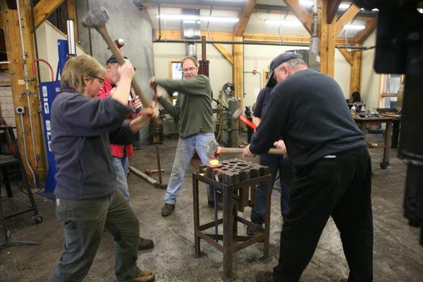 Building Blacksmithing Skills with Susan Hutchinson