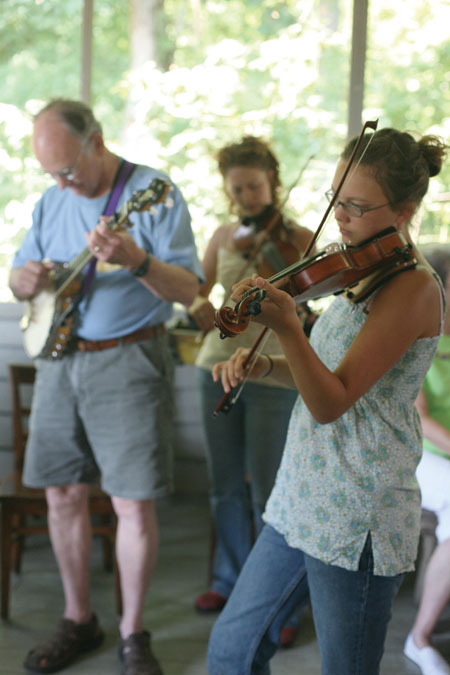 Dance Musicians' Week at the John C. Campbell Folk School