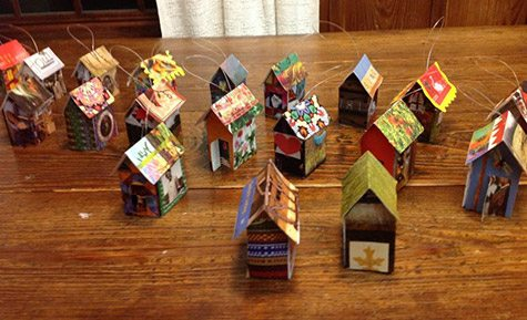 Handmade Catalog Paper Decorations