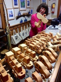 JCC Craft Shop wooden toys