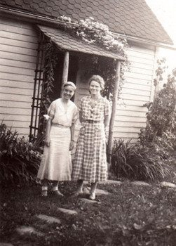 Louise Pittman and Marguerite Butler