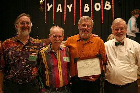 In 2011 The Country Dance and Song Society awarded Bob its Lifetime Contribution Award.