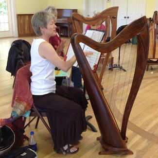 An Incredible Week of Folk Harp and Fellowship
