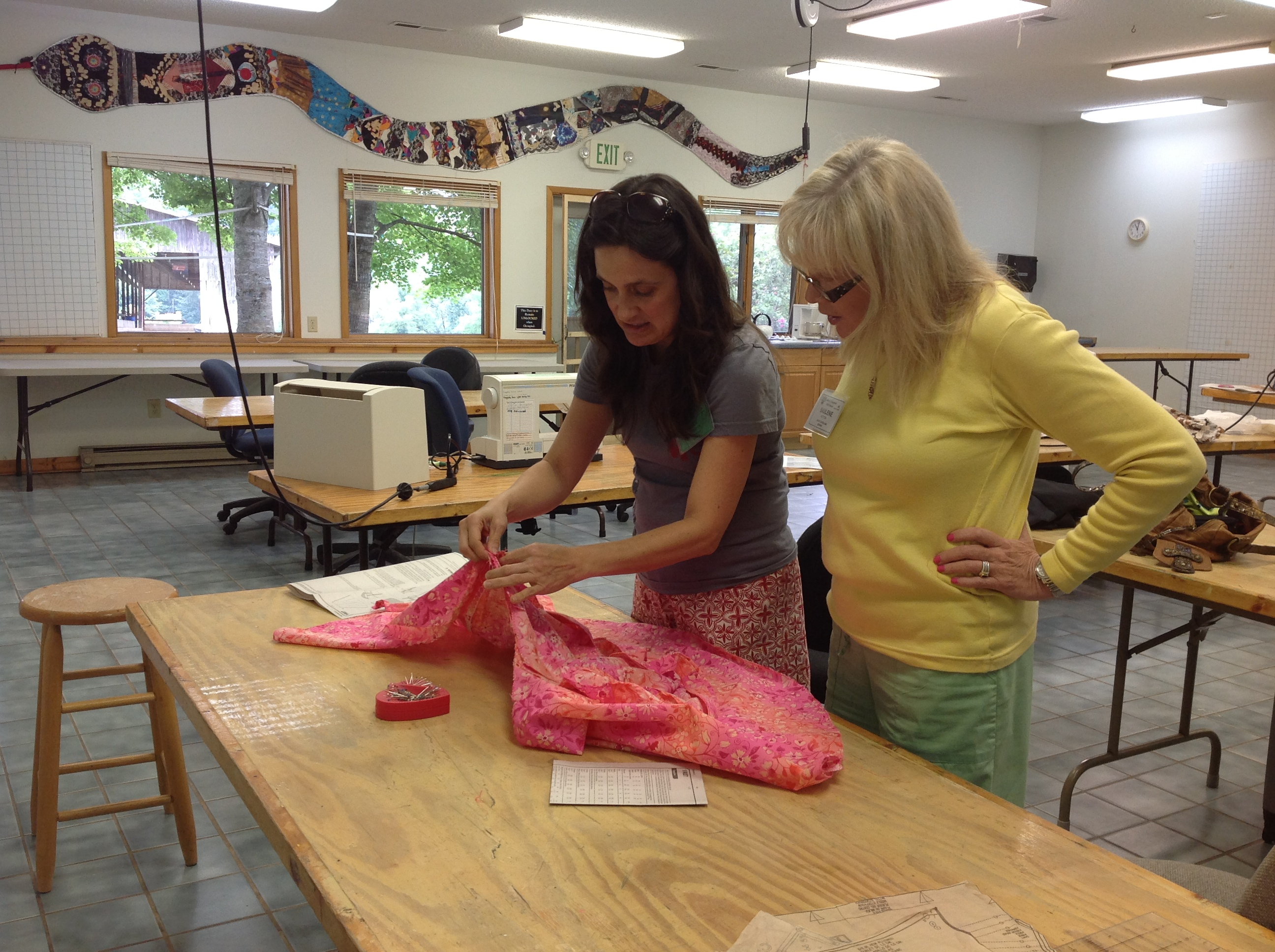 Building Your Sewing Skills at John C. Campbell Folk School