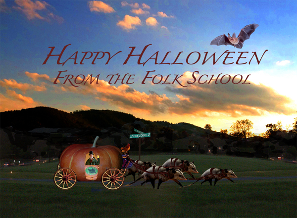 Happy Halloween From the Folk School