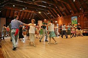 English Country Dance in the Community Room