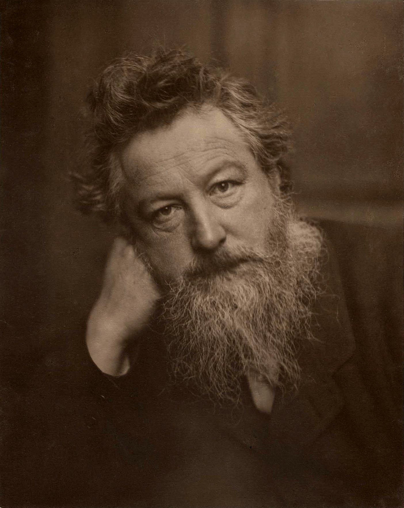 William Morris, born March 24, 1834, was an English textile designer, artist, and writer associated with the Arts and Crafts Movement.