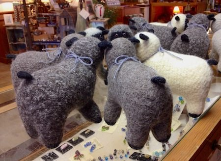 Spring Lambs Have Arrived at the Craft Shop