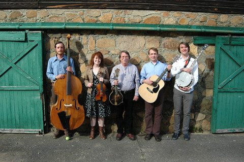 The Berea Bluegrass Band by the Blacksmith Shop, 2012