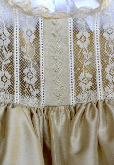 New In The Craft Shop – Heirloom Christening Gown