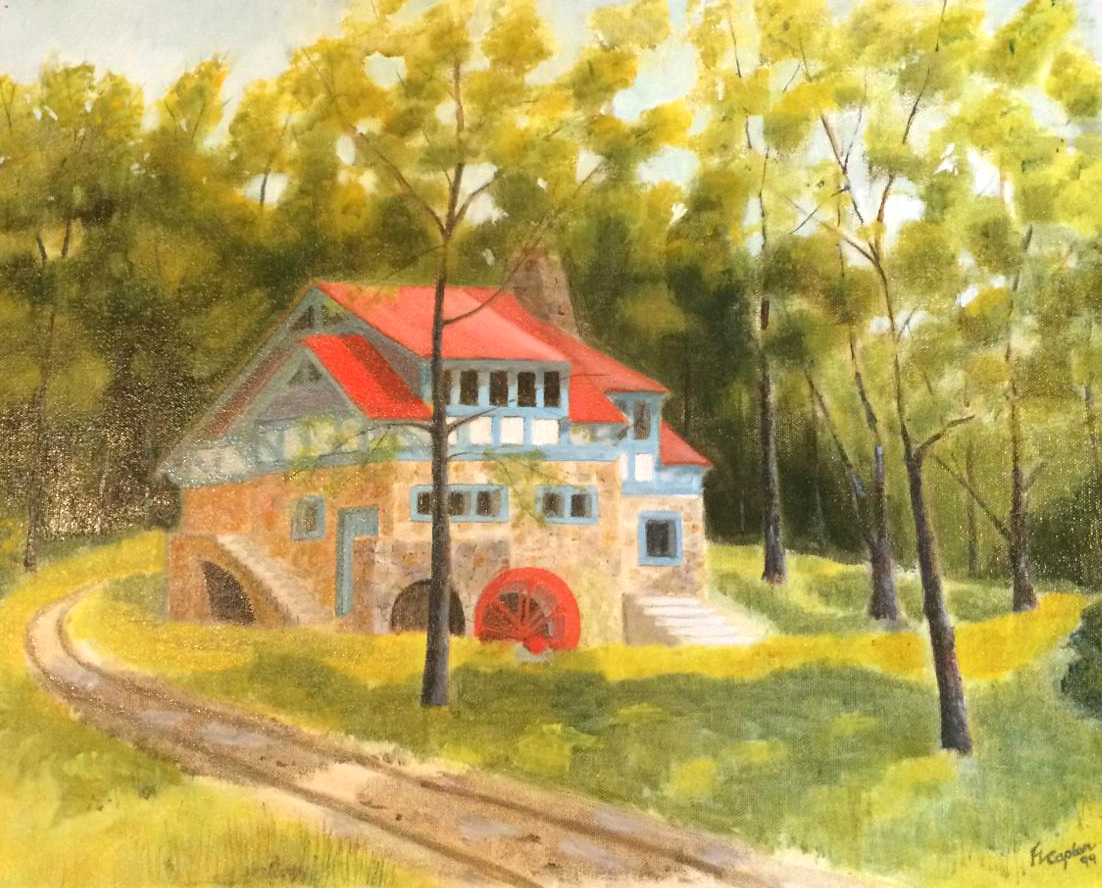 Mill House Painting