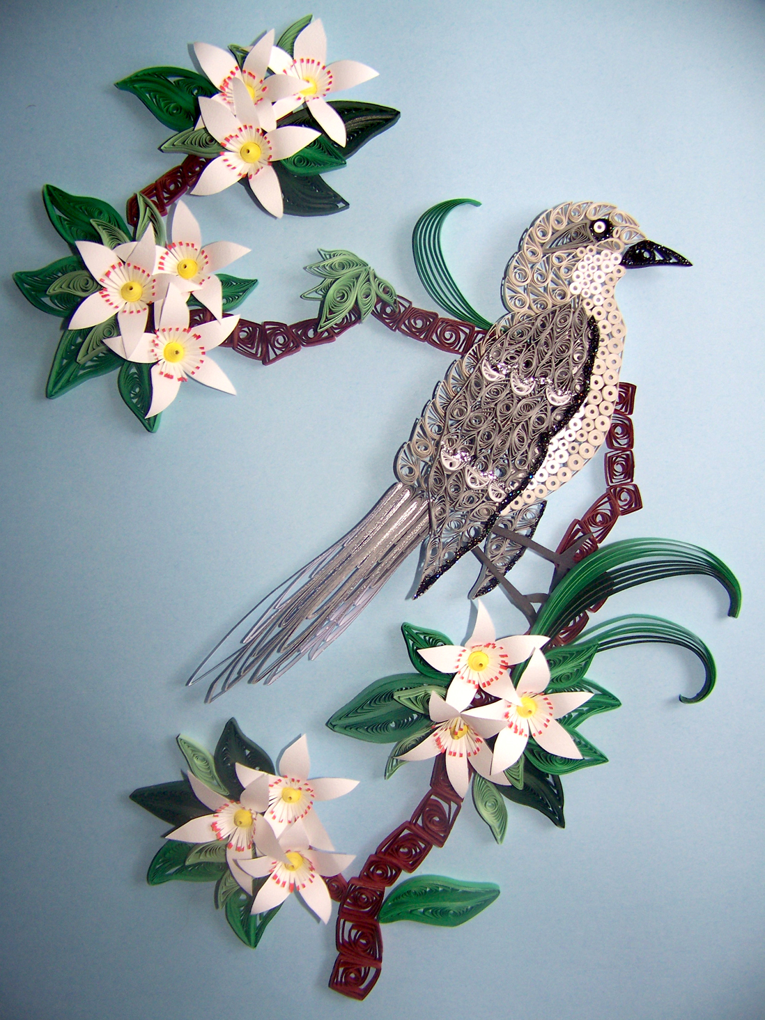 Quilling Comes to the Folk School