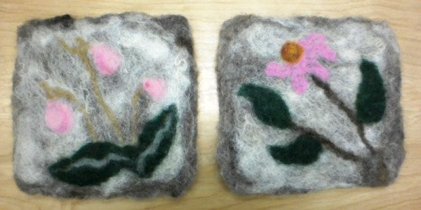 Felted Pot Holders