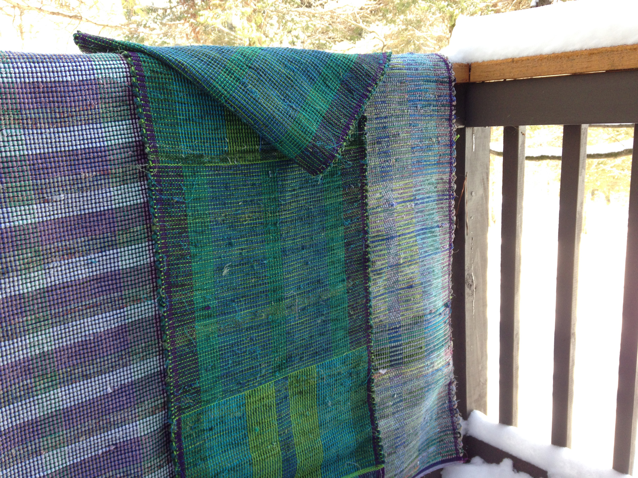 Weaving with Rags: A Cure for the Winter Blues