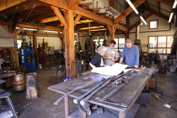 Blacksmith Work Week 2015