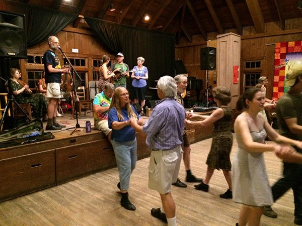 Nightly contra dances are scheduled during Dance Musicians' Week.