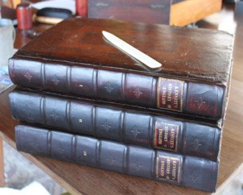 Books restored by Gian