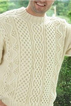 Aran Design by Charles Gandy (seen in CAST ON (Nov-Jan 2013) TKGA's Magazine)