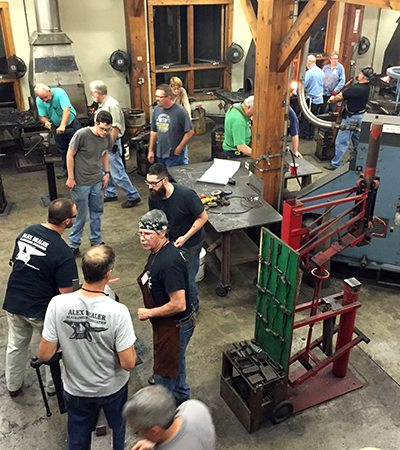 Hammer Time in the Blacksmith Shop 2015