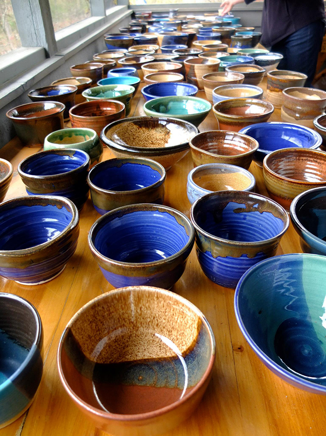 Empty Bowls Tickets on Sale February 16