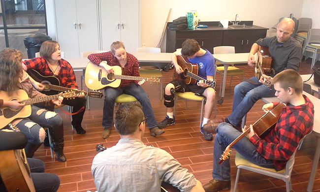 Folk School JAM Program Passes on Appalachian Musical Traditions to Local Teens