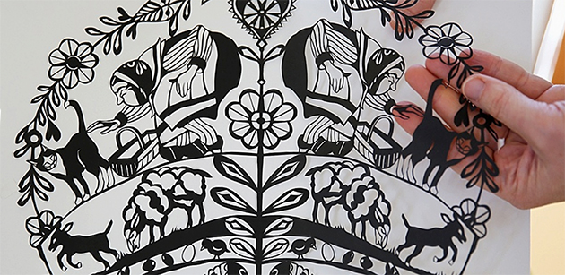 The Magic of Paper Cutting with Ingrid Lavoie