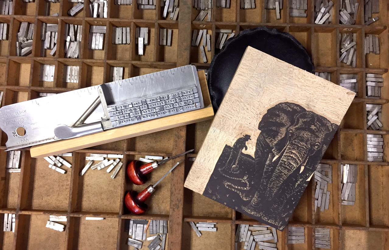 Letterpress Printmaking with Jessica White