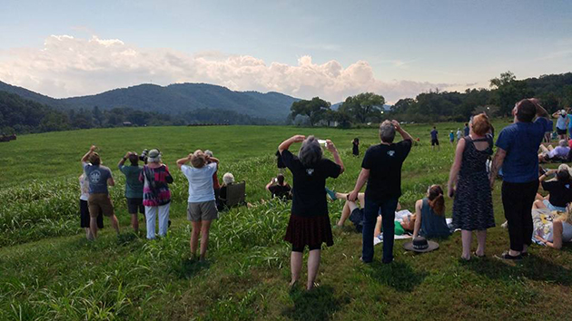 Totality in Brasstown: Eclipse Viewing at the John C. Campbell Folk School