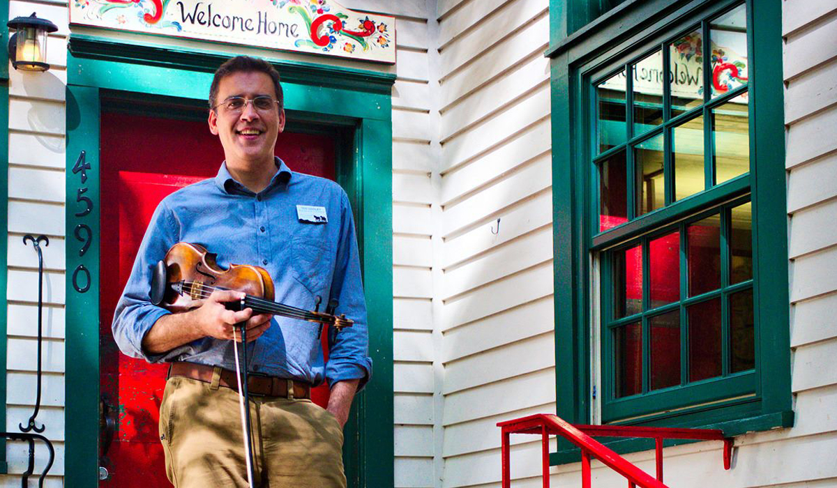 We Welcome Ted Cooley as the Folk School Music and Dance Program Coordinator