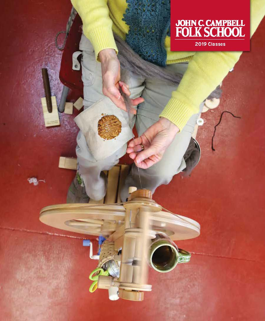 The New 2019 Folk School Catalog has arrived!