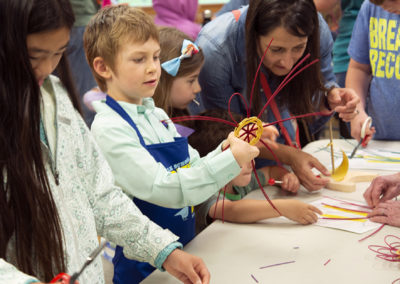 Basketry in Rock Room • Friends & Family Day 2019