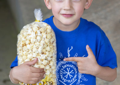 Kettle Corn in Festival Barn • Friends & Family Day 2019