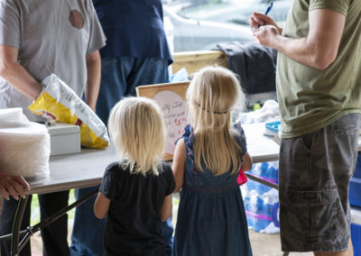 Local Food in Festival Barn • Friends & Family Day 2019