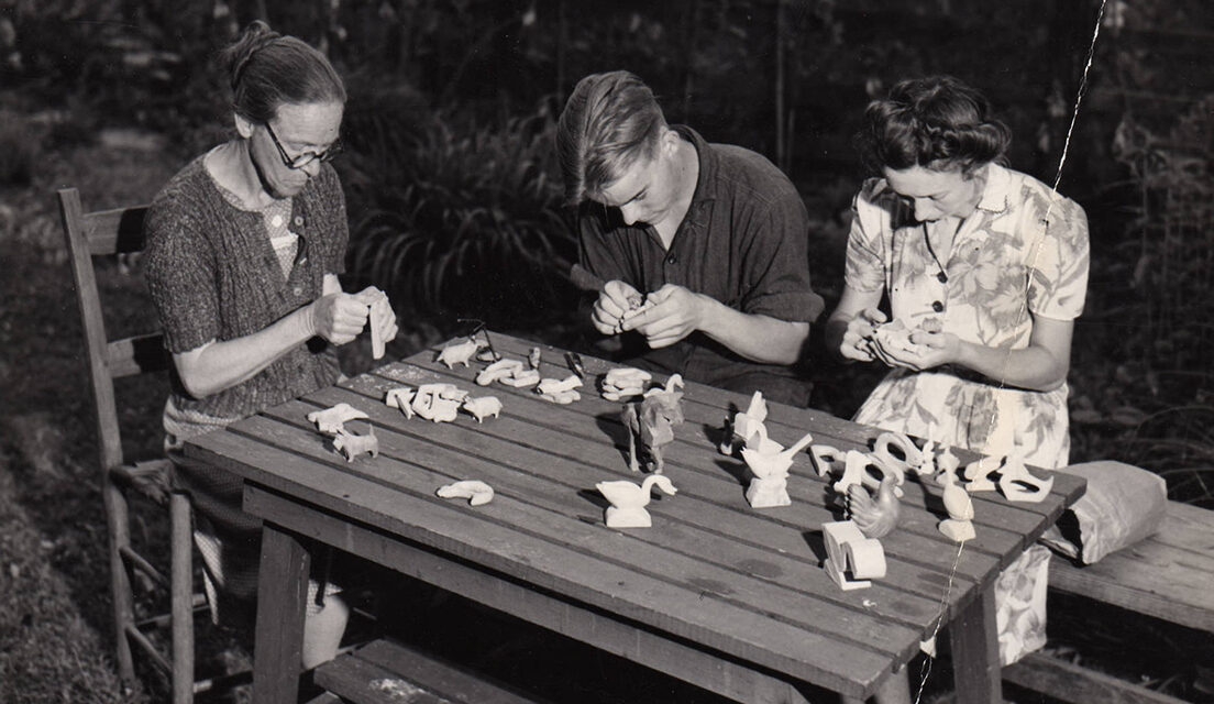 From the Archives: A Photographic Look at the Brasstown Carvers