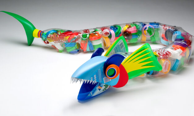 Fantastic Recycled Plastic Art: An Interview with David Edgar