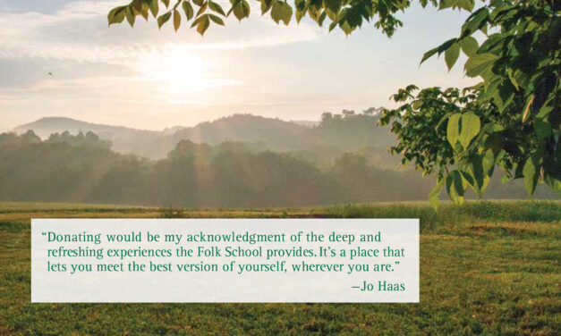 Folk School Stories: Jo Haas