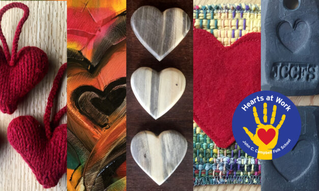 Hearts Abound at the Folk School